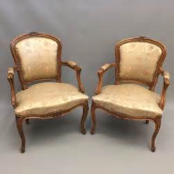 pair armchairs pair of french open armchairs antiques atlas