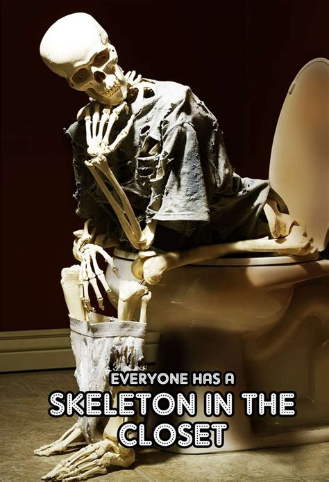 17 best images about skeletons in the closet on
