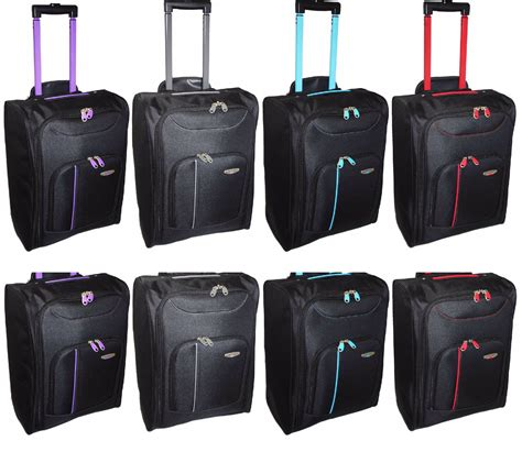 cabin holdall new cabin travel wheeled lightweight bag luggage