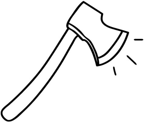 Coloring Page Of Hatchet | hatchet coloring pages clipart best