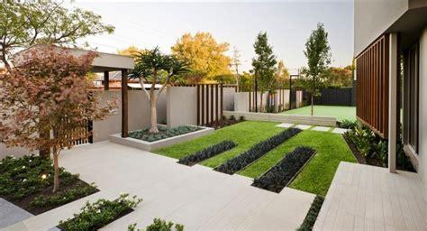 minimalist garden design modern garden moderni