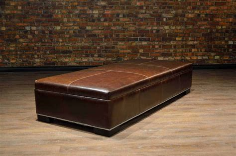 large ottoman coffee table coffee table ottoman large canada s leather sofas