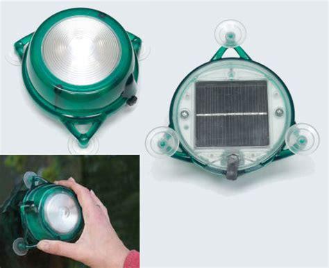 small solar powered lights solar powered window mounted light envirogadget