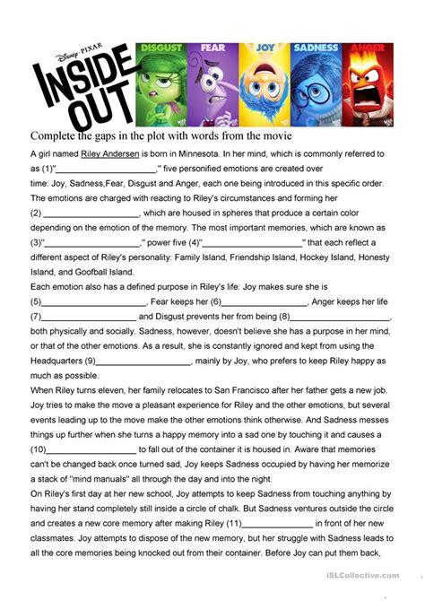 Inside Out Math Worksheet all worksheets 187 inside out worksheets printable