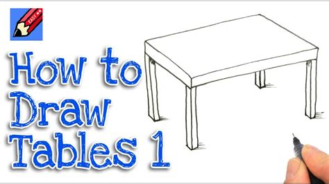 how to draw a table how to draw a table easy by 1
