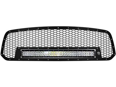 Led Grill Light Bar 2013 16 Dodge Ram 1500 Grille With 30 Quot Rds Led Rigid Industries