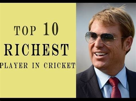 see the top 10 richest top 10 richest cricketers in the world 2015 2016