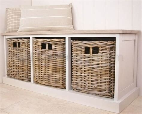storage bench seat with baskets storage benches with baskets best storage design 2017