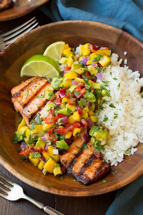 Wich Of The Week Avocado And Mango With Cilantro Lime Mayonnaise by Grilled Lime Salmon With Avocado Mango Salsa And Coconut