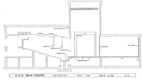 section studios theatre dance production facilities uc davis arts