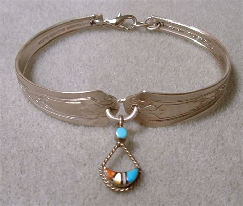 how to make spoon jewelry spoon bracelet from recycled materials ornamento