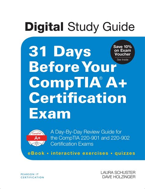 A Certification Guide 31 days before your comptia a certification digital study guide a day by day review