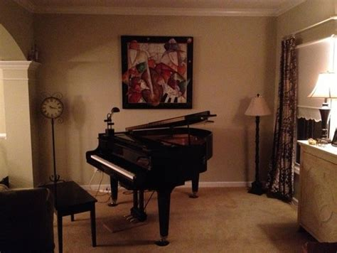 Grand Piano In Small Living Room by Decorating Around A Baby Grand Piano In A Small Living Room