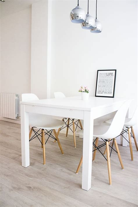 White Dining Room Table | lighten up dinner time with these 15 white dining room tables