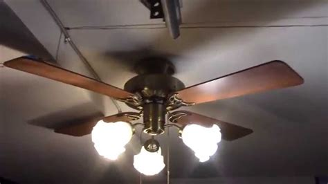 hunter nautical ceiling fans 42 quot hunter coastal breeze ceiling fan youtube