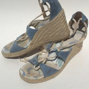 baby coach shoes 56 coach shoes baby blue coach wedges from