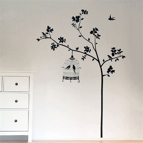 sticker trees for walls bathroom wall decorations tree wall stickers