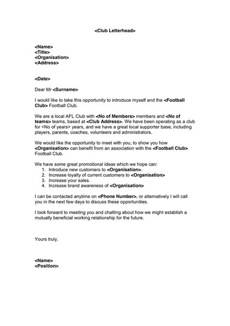 event sponsorship proposal cover letter my college scout