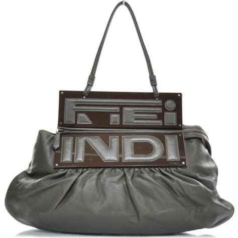 Fendi Haircalf Convertible To You Bag by Fendi Leather To You Convertible Clutch Bag 22753