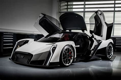 worlds newest electric hypercar    crazy doors autoguidecom news