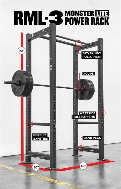 Rogue R3 Power Rack by Rml 3 Rogue Lite R 3 Power Rack Rogue Fitness