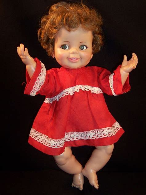 annabelle doll 1968 ideal corp 1968 baby giggles doll dolls from the 1960 s