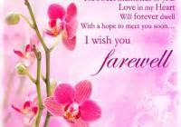 farewell messages best wishes messages latest sms