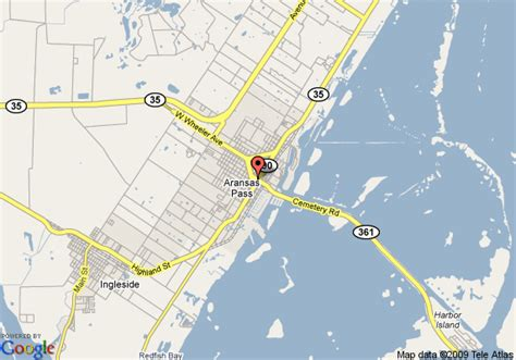 aransas pass texas map map of days inn aransas pass aransas pass
