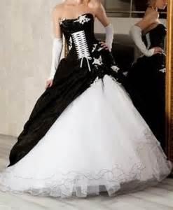 144329 white and black wedding dresses white and black wedding dresses