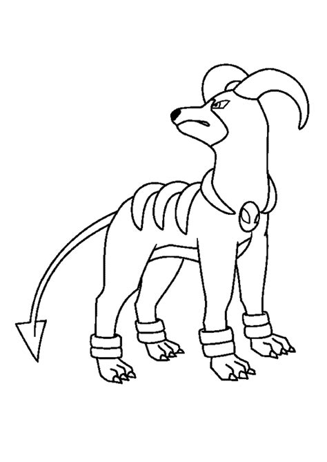 pokemon coloring pages dog coloriage pok 233 mon d 233 molosse hugolescargot com