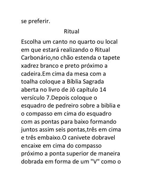 Ritual carbonário