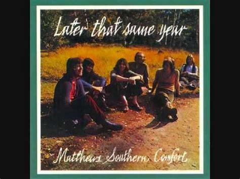 mathew southern comfort matthews southern comfort jonah 1970 youtube
