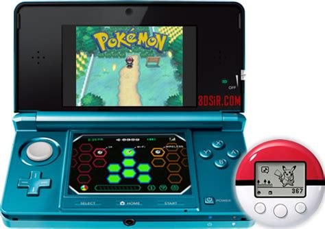 pokewalker 3ds infrared hacks and mods pokémon 3ds