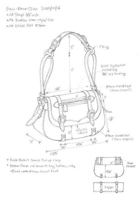 drawing bag pattern 7 best images of leather handbag patterns printable free