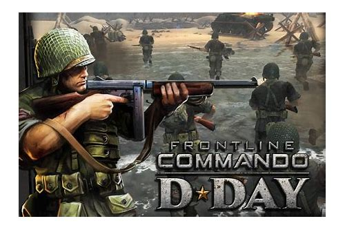 frontline commando d day modded apk download