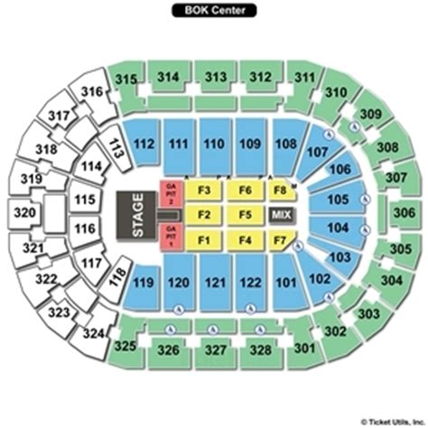 floor ls tulsa tulsa bok center seating chart brokeasshome