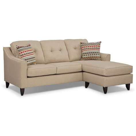 cream sectional with chaise marco chaise sofa cream american signature furniture