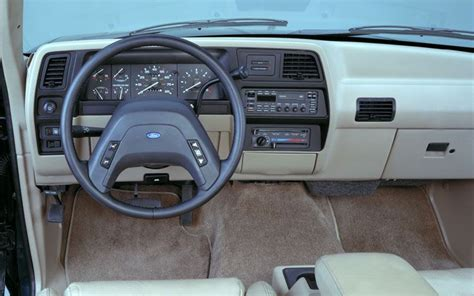94 Ford Explorer Interior by 1991 Ford Explorer Test Truck Trend