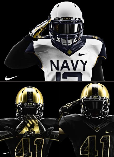 Here Are Some More Uniforms To Give You Some Ideas For - army navy you seen the new nike uniforms designed