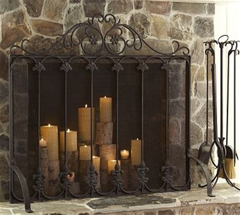 candle fireplace screen fireplace candelabra interior design