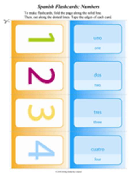 printable number flashcards in spanish printable spanish flash cards numbers los n 250 meros