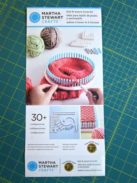 martha stewart crafts knit weave loom kit review martha stewart crafts and brand yarn knit and