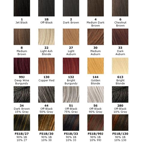 hair color chart for braids x pression hair color hair pinterest hair coloring