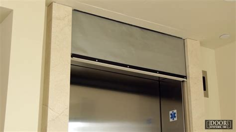 smoke curtain elevator elevator smoke containment system door systems