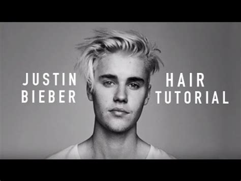 Justin Bieber Hairstyle 2015 Tutorial by How To Justin Bieber Hairstyle Tutorial 2016