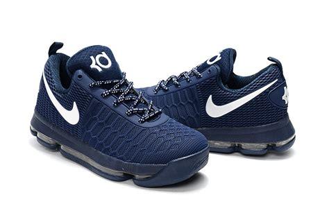 blue basketball shoes nike kd 9 blue white basketball shoes jordans 2017