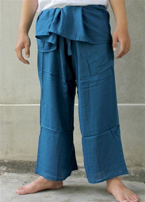 thai yoga pants pattern thai fisherman pants rayon trousers yoga massage 100