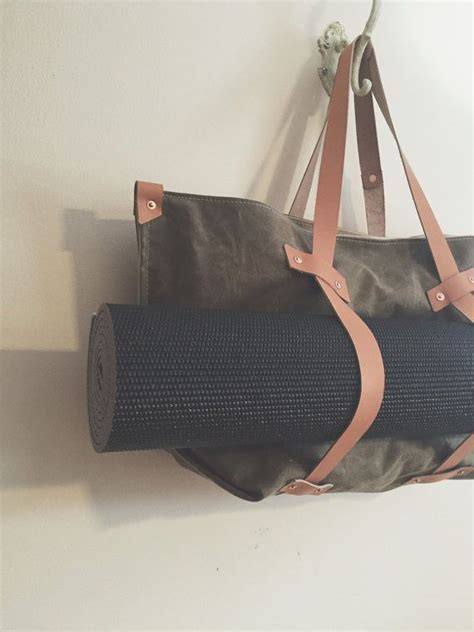 yoga gym bag pattern 25 best ideas about waxed canvas bag on pinterest beach