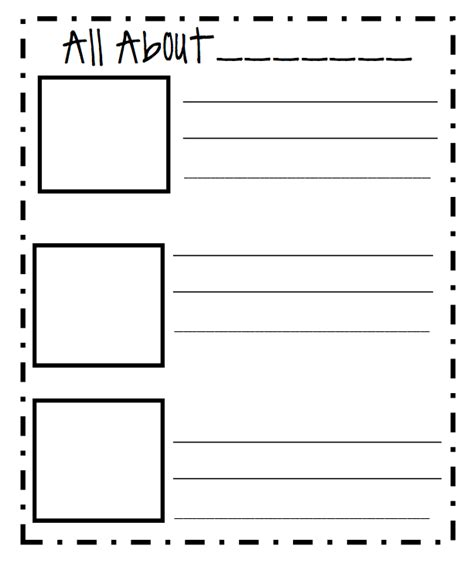 story writing paper for 2nd grade printable story writing paper for grade free