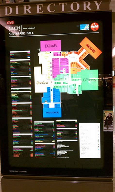 southpark mall map southpark mall moline cities illinois mall directory flickr photo